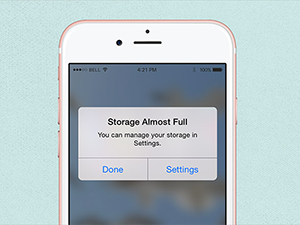 storage almost full on iphone storage on your iphone connectech sacramento s 18037