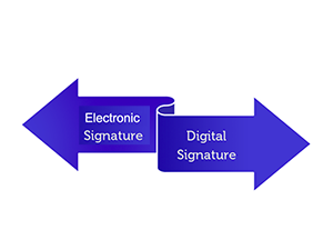 Working with Electronic or Digital Signatures