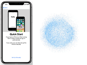 iPhone 8 Fast Setup with iOS 11's New Quick Start