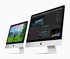 New iMacs and iPads